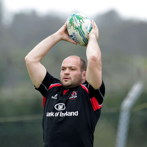 Photos of the Ulster players training ahead of the Northampton game