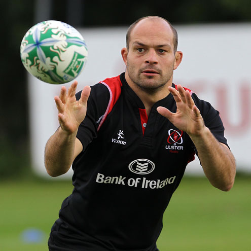 Ulster Squad Training At Newforge, Monday, October 4, 2010