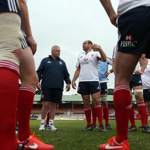 British & Irish Lions Captain's Run At North Sydney Oval, Sydney, Australia, Monday, June 17, 2013