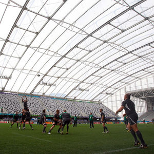 Ireland Captain's Run Session At Otago Stadium, Dunedin, New Zealand, Saturday, October 1, 2011