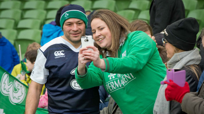 In Pics: Ireland Open Training Session