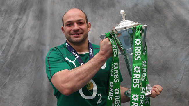 Ireland hooker Rory Best