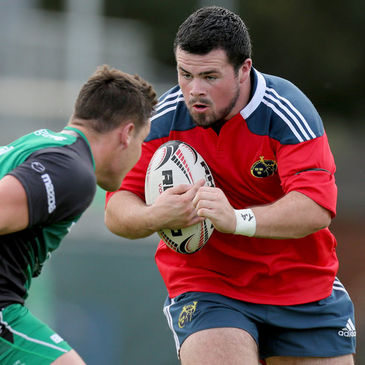 Munster Under-20 prop Rory Burke
