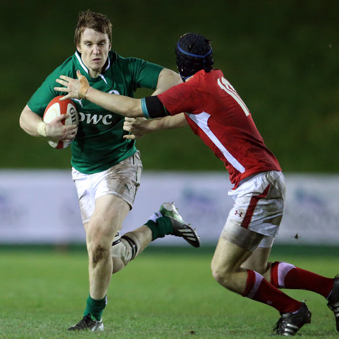 Photos of the Ireland Under-20s' opening Six Nations clash with Wales