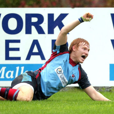 Rory Scholes has made an impact with Belfast Harlequins this season