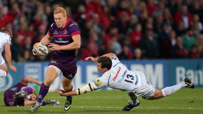 Scholes Scores Brace In Narrow Ulster Defeat