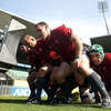 The Irish front row of Mike Ross, Rory Best and Cian Healy got on top of the Wallabies scrummaging wise, and will be quietly confident of doing the same to the Italians