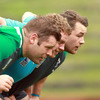 Should Rory Best be ruled out of the equation, Sean Cronin will join his new Leinster team-mates Mike Ross and Cian Healy in the Irish front row