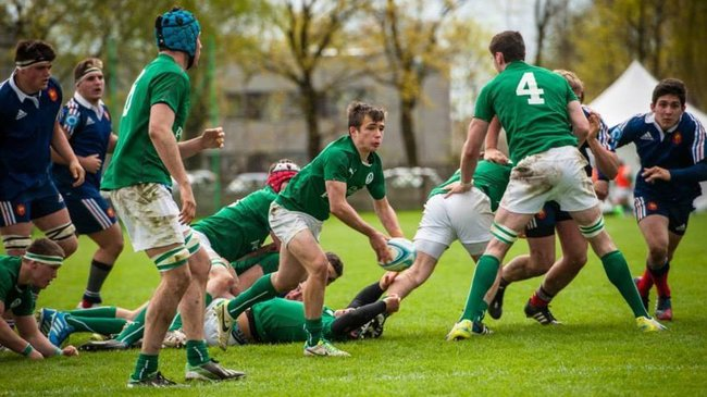 France Under-18s 11 Ireland Under-18 Schools XV 24, Plewiska, Poland, Tuesday, April 15, 2014