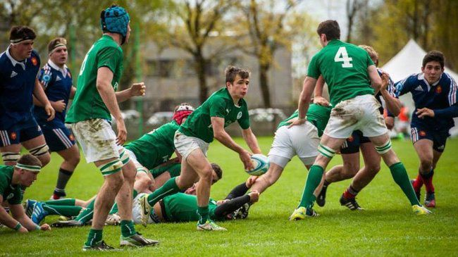 In Pics: France Under-18s 11 Ireland Under-18 Schools XV 24