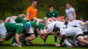 Ireland Under-18 Schools XV 20 Georgia Under-18s 10, Opalenica, Poland, Friday, April 11, 2014