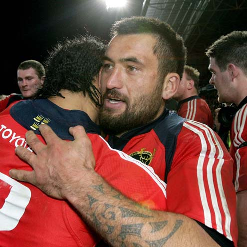 Rua Tipoki is leaving Munster at the end of the season