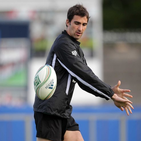 Ruan Pienaar training with the Ulster squad