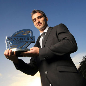 Ruan Pienaar with his Magners League award