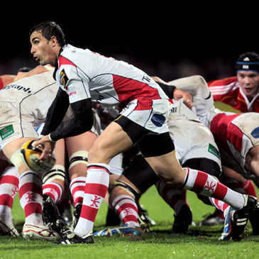 Ulster's Ruan Pienaar in action against Munster