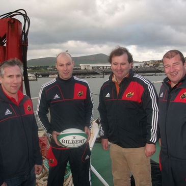 Rugby is growing in popularity on the Dingle peninsula