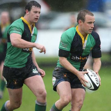 Ryan Bambry in action for Ballynahinch
