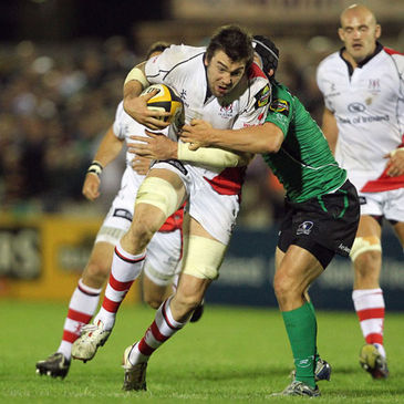 Ryan Caldwell in action for Ulster