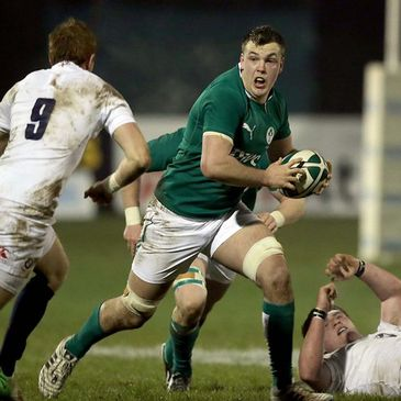 Ryan Murphy in action for the Ireland Under-20s
