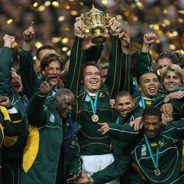 South Africa are the current World Cup champions