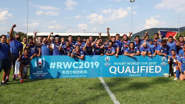Samoa's Qualification Completes Ireland's RWC 2019 Pool