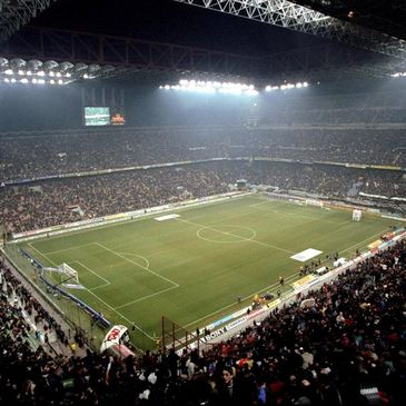 The San Siro is home to AC Milan and Inter Milan Football Clubs