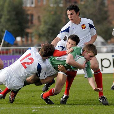 France lost 8-5 to Ireland in last year's U-18 Six Nations Festival in Glasgow