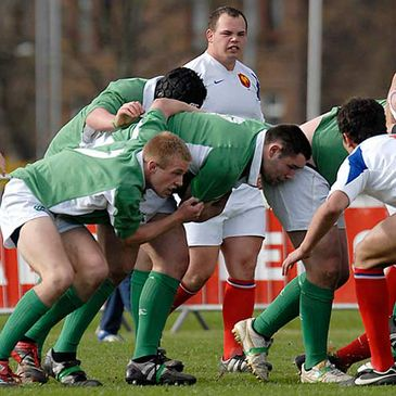The Ireland Under-18 Schools side beat France in last year's Six Nations Festival