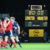 The final scoreline says it all as Munster win the battle of the reigning Magners League and Heineken Cup champions