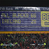 The scoreboard at Yarrow Stadium says it all as New Zealand post their biggest ever score against Ireland at Test level