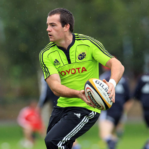 Scott Deasy training with the Munster squad