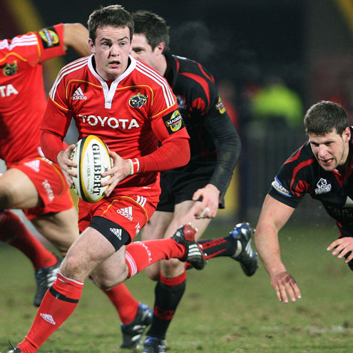 Munster's Scott Deasy in Magners League action