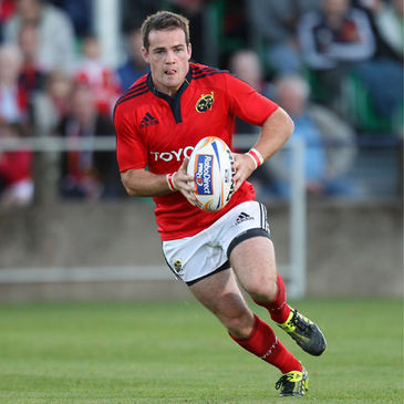Scott Deasy will start for Munster against Edinburgh