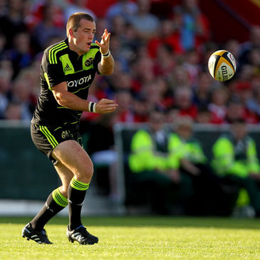 Scott Deasy in pre-season action for Munster