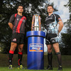 Lining out for the two Scottish clubs were Stuart McInally of Edinburgh and Glasgow Warriors' Calum Forrester