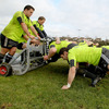 The Munster forwards finetune their scrummaging ahead of Saturday's showdown with the Ospreys in Swansea