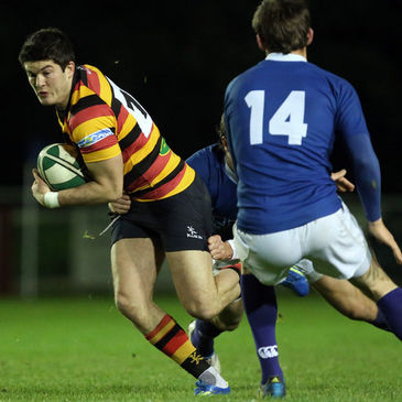 Sean Carey in action for Lansdowne against St. Mary's