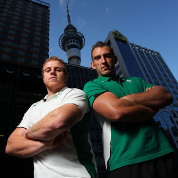 Sean Cronin and John Muldoon will start against New Zealand
