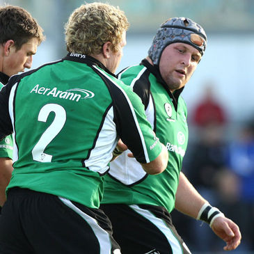 Connacht front rowers Sean Cronin and Brett Wilkinson