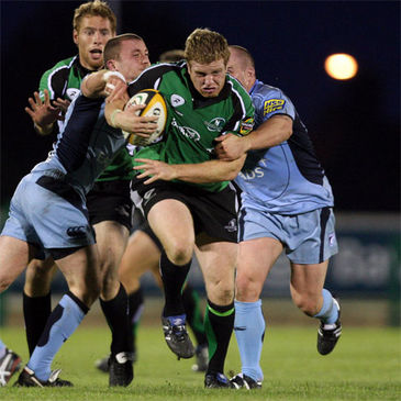 Sean Cronin in action against the Cardiff Blues