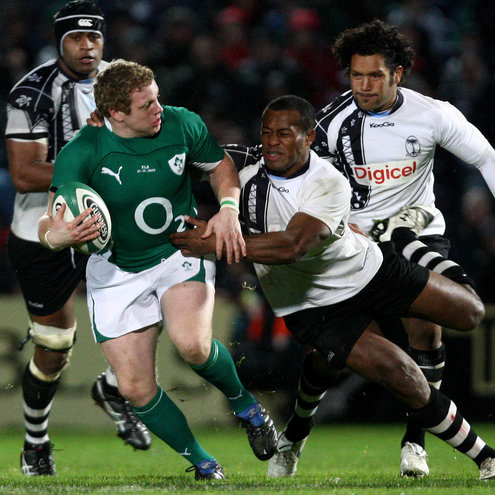 Sean Cronin in action against Fiji in November 2009