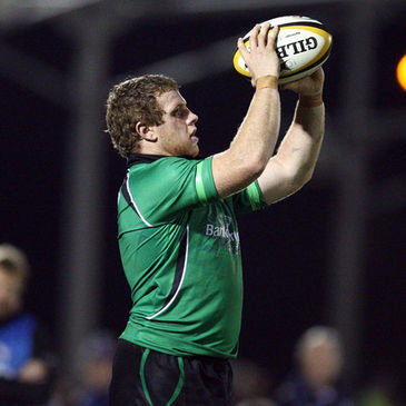 Connacht hooker Sean Cronin