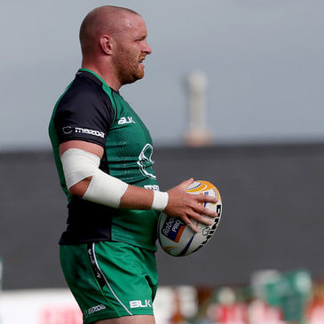 Connacht hooker Sean Henry