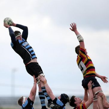 Sean McCarthy wins a lineout for Shannon
