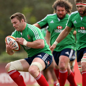 British & Irish Lions Squad Training At Noosa Dolphins RFC, Noosa, Queensland, Australia, Wednesday, July 3, 2013