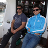 Sean O'Brien and Gordon D'Arcy were among the group of players who took to the high seas on a day off from training