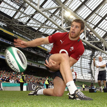 Sean O'Brien is pictured at the Aviva Stadium