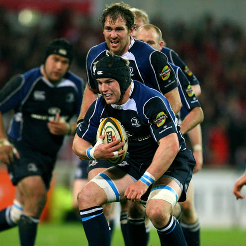 Leinster flanker Sean O'Brien