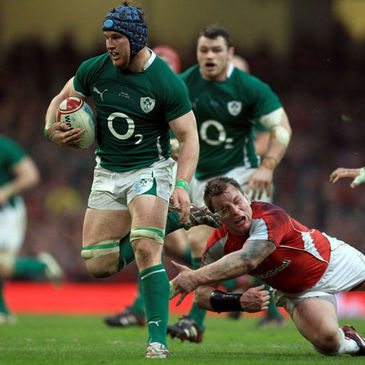 Sean O'Brien leads an Irish attack