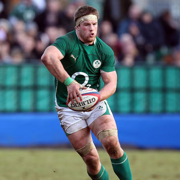 Sean O'Brien is set for his first senior start for Ireland